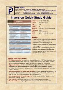Inversion QSG
