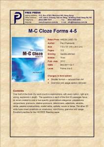 M-C ClozeF4-5.3Ed.2012